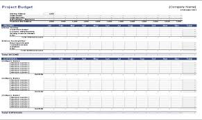 Construction Budgeting Construction Project Budget Template Download Free Monthly Project