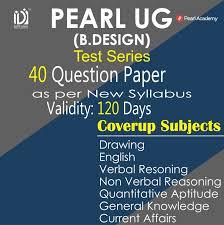 Pearl Design Institute Pearl Pg 40 Full Test Series