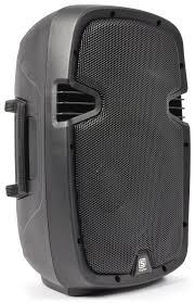 speakers 10 inch. spj-1000ad skytec active 10 inch speaker angle view speakers l
