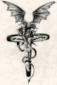 Motiv Tetování Peklo ďábel 994