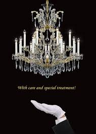 maintenance and cleaning of crystal chandeliers