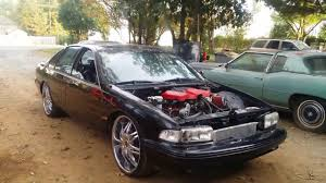 LSA Supercharger 1995 Chevy Impala SS LS3 #376SS - YouTube