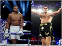 Tyson Fury, Anthony Joshua and how ...