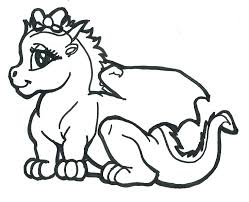 Printable Scary Dragon Coloring Pages Cute Ball Z Kai Really Cool