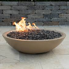 natural gas fire bowl. Unique Bowl American Fyre Designs Marseille 32Inch Natural Gas Fire Bowl  Cafe Blanco For N