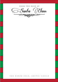 Fold over the envelope flaps to create the envelope (use a ruler to make sure the. 9 Free Letter From Santa Template Download Word Pdf