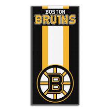 nhl boston bruins beach towel