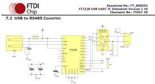 communication creating a usb to rs485 converter ft232rl 1 answer 1