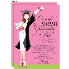 Glamour Girl Grad Invitations By Doc Milo Invitation Box