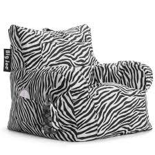 zebra beanbags sphere chairs furniture dorm