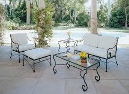 Retro Vegas Tables SoldWoodard Wrought Iron Outdoor Furniture