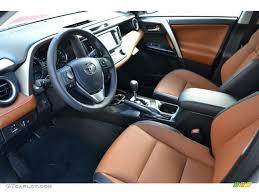 cinnamon interior 2016 toyota rav4 limited hybrid awd photo 109603298
