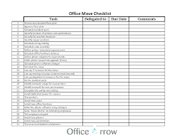 Change Of Address Template Free Excel Moving Office Free Change Of Address Template Move Checklist