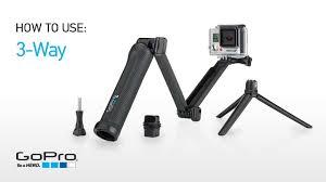 GoPro: Introducing <b>3</b>-<b>Way</b> Grip | Arm | Tripod - YouTube