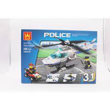 Mua ĐỒ CHƠI TRẺ EM - Xếp hình Lego Máy bay trực thăng (3 in 1) - Đồ Chơi  Lắp Ráp chỉ 130.000₫