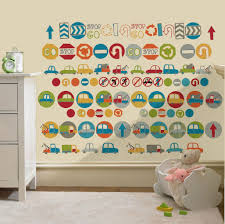 23 car wall decals for nursery transport vehicles cars wall stickers decals nursery boys bedroom kids mcnettimages com
