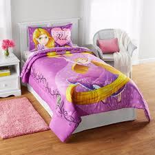 details about new kids girls disney princess rapunzel bedding bed in a bag comforter set