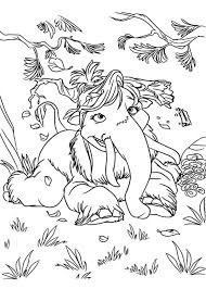 Small Picture Manny the Woolly Mammoth is Animals of the Ice Age Coloring Pages