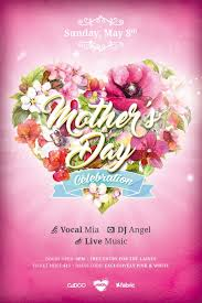 Flyer Backgrounds Free Mothers Day Celebration Free Flyer Template Psd Flyer
