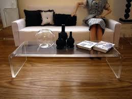 clear acrylic coffee table ikea fancy acrylic side table with acrylic coffee table furniture home decorations