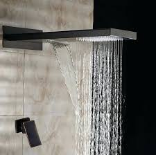 oil rubbed bronze rainfall shower set head with hose