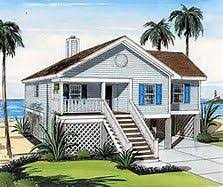 Sweet Ideas 1 One Story House Plans On Pilings Elevated Stilt Elevated Home Plans