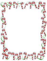 christmas menu borders land borders clipart clipground