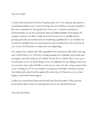 Letter Proposal Sample Free New Best Ideas Business Cover How To