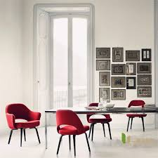 u best living room relax saarinen knoll saarinen dining chair with wood legs leather dining chairs