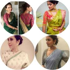 Saree Blouse Designs Front And Back 2017 10 Best Saree Blouse Designs Of 2019 Must Have Saree