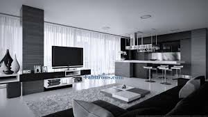 Modern Kitchen Living Room Kitchen In Living Room Design Kitchen Living Room Design Pictures