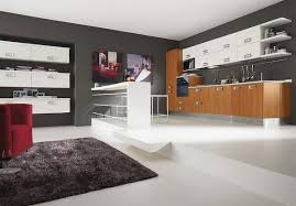Modern Kitchen Wall Cabinets Modern Kitchen Decorating Themes All Home Designs Awesome