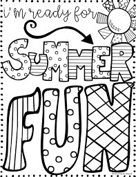 Summer Coloring Pages For Older Kids at GetColorings.com | Free ...