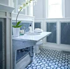 Blue And White Bathroom Tiles Navy Blue And White Bathroom Floor