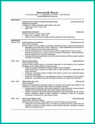 College Student Business Resume Examples Awesome Collection Career