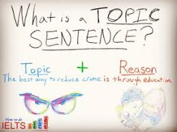 the fastest way to improve your ielts task writing score topic  how to write a good topic sentence