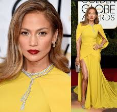 makeup for yellow dress 4 jlo
