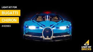 Lego Bugatti Chiron Light Kit Installation Lego Bugatti Chiron 42083 Light Kit Light My Bricks