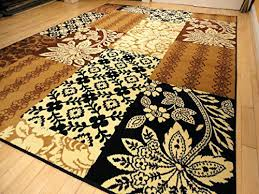 brown and cream area rugs s brown and cream zebra area rug