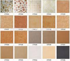 beautiful color of floor tiles outdoor villa glazed porcelain tile orange color ceramic tiles
