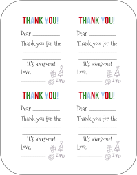Blank Thank You Notes Free Fill In The Blank Thank You Cards Thank You Cards
