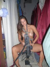 Nudes girls with machine guns