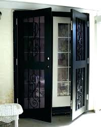 patio screen door sliding screen door installation inside doors custom storm on ideal handles closet