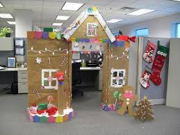 office holiday decor. gingerbread house cubicle decorations office holiday decor c