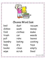 House Chore List Tileproject Info