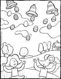Pasen Kleurprenten Pagina 4 Van 4 Kiddicolour