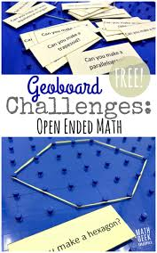 explore discover and yze shapes with this fun set of geoboard activity cards geoboards