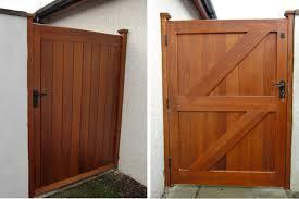 wooden gates garden gates driveways