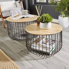 canary set of 2 coffee table