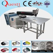 High Precision Ss Channel Letter Laser Welder Machine 200w 400w 3d